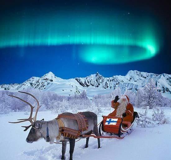 Santa Claus Village Rovaniemi Suomi Suomessa In Finland
