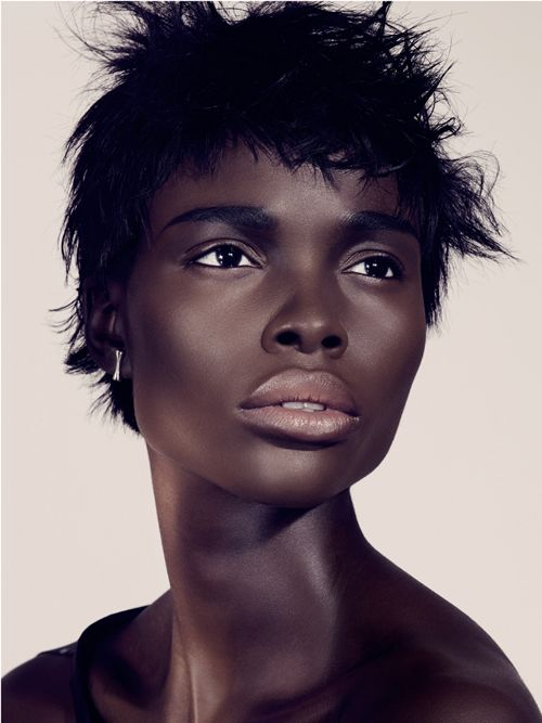 Janeil Williams, beautiful dark supermodels.