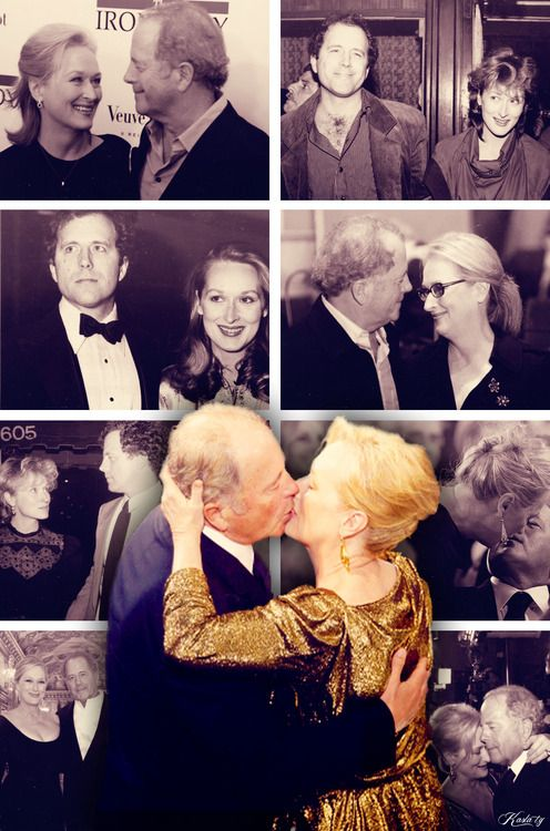 """Her brother, Harry, walked up to us and said: 'Jimmy, Meryl, I'd like you to meet a friend of mine, Don Gummer.' ... And I kinda look over and see Meryl looked up at him, and looked back at me, and you were blushiiiiing… She held up her hand to shake hands with him, and he lend down and kissed her hand, and there was a little tiny spark that became, I believe, the great love affair of the 20th century."" ~ James Woods on Meryl & Don's love <3"