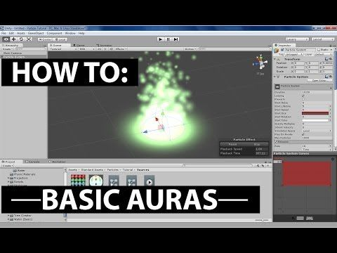 How To: Basic Auras in Unity - YouTube