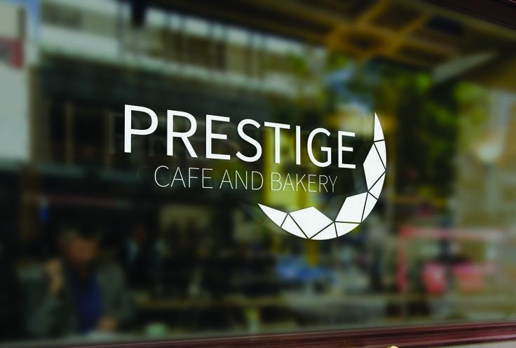 Prestige, café and bakery | shop window