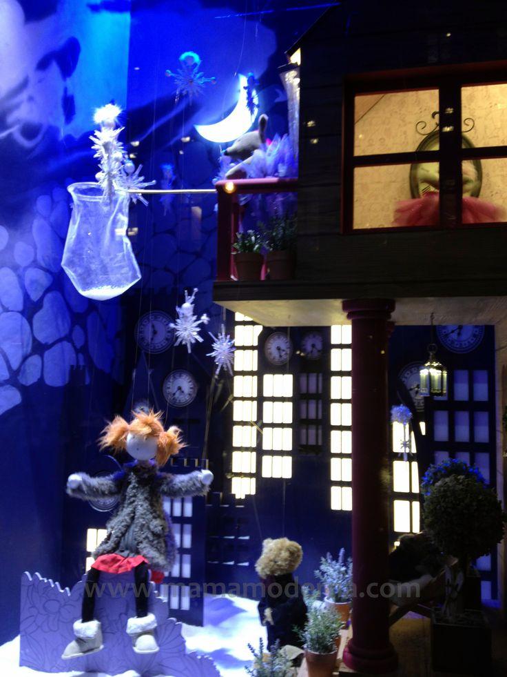 """Escaparates navideños 2013 de """"Galeries Lafayette"""""""