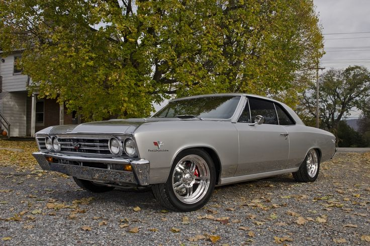 1967 CHEVROLET CHEVELLE CUSTOM 2 DOOR COUPE - Barrett-Jackson Auction Company