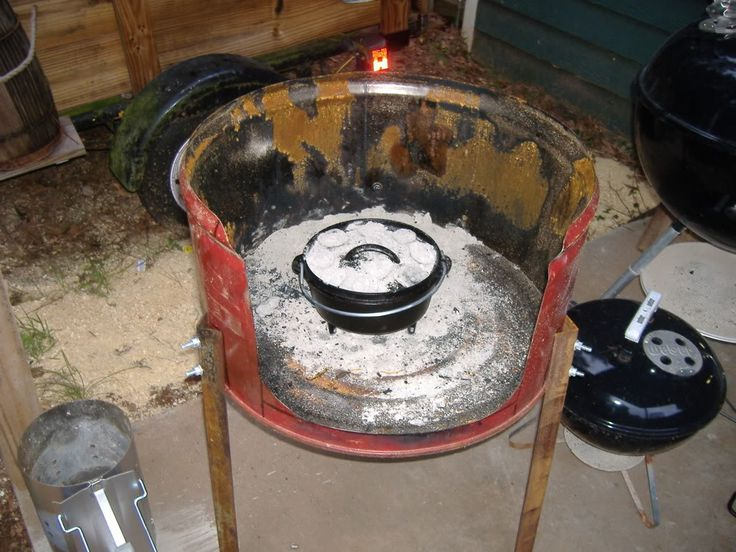 dutch oven cooking table