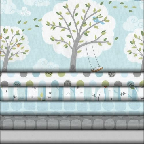 This website has the best nursery fabric!  Windy Day Fabric Collection - Babybedding.com | Carousel Designs