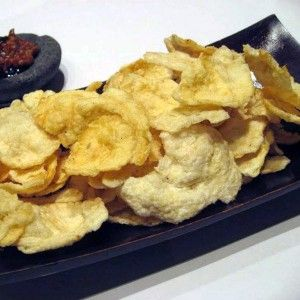 Emping - Indonesian Crackers