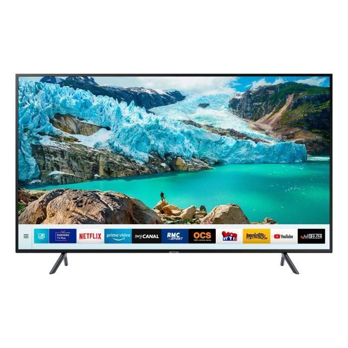 Samsung Ue75ru7105 Tv Led 4k Uhd 189 Cm 75 Smart Tv 3 X Hdmi 2 X Usb Classe Energetique A En 2020 Tv Led Smart Tv Samsung