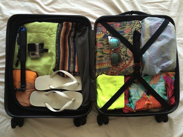 Por Karina Sell  1. Mala de mão Escolha uma mala de mão que tenha um espaço interno bom,...