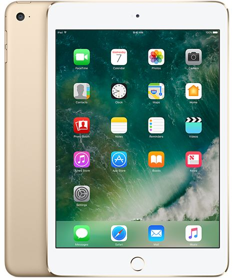 iPad Mini 4 128GB Gold Finish WiFi Connectivity