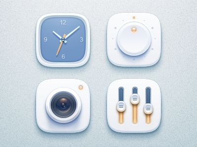 simple icons by jeffreyjiang