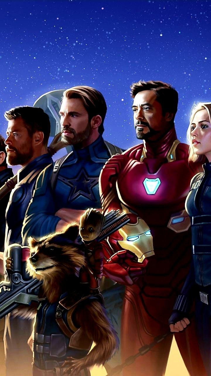 Characters From Avengers Infinity War Marvel Comics Arte Da