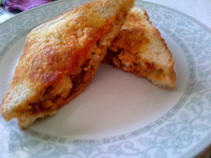 Toasted Mexican Chicken Mayo Sandwich | Mochachos, Port Elizabeth