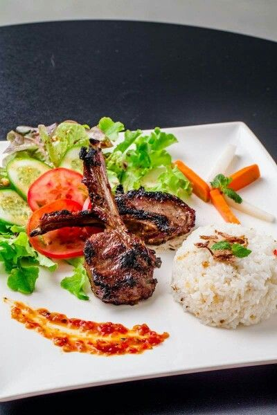 Chargrilled Lamb Cutlets