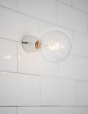 Porcelain Wall Light
