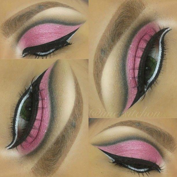 arabic/bollywood makeup!  #imeesitchonmakeup