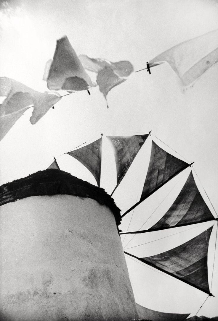 Windmill, Mykonos photo by Norman Parkinson, 1962