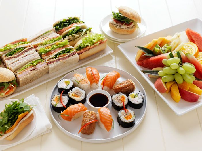 the catering department specialise in corporate catering services in