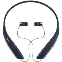 LG Mobile - Tone Ultra Bluetooth Headset in Navy Blue