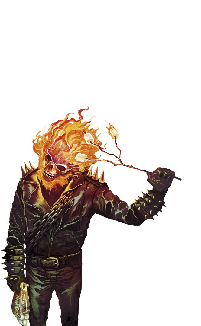 Ghost Rider Johnny Marshmallows by *deadlymike