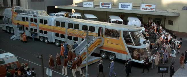 "Crazy bus from movie ""The Big Bus"" (1976)"