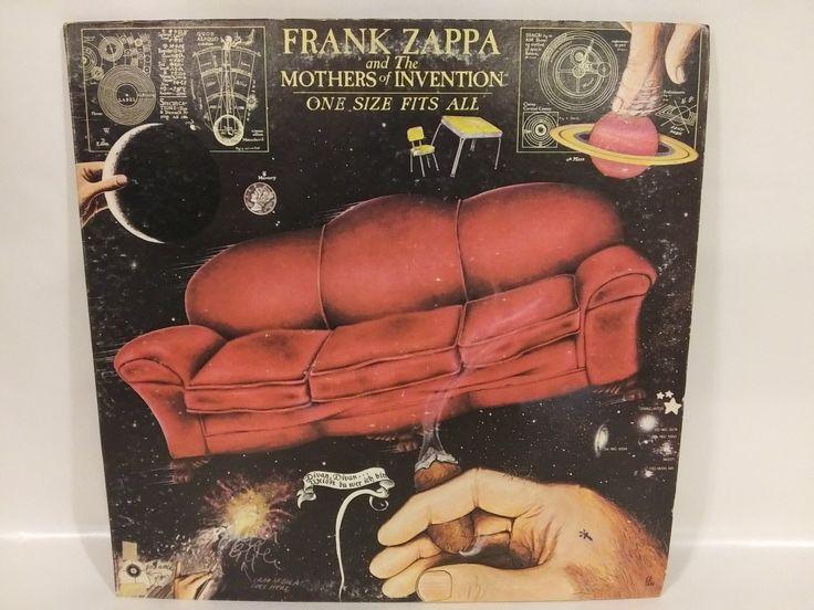 Frank zappa one size fits all original discreet vinyl
