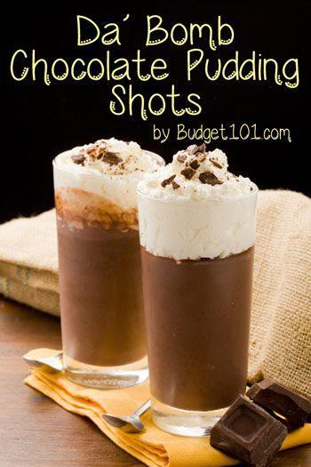 Kahlua Chocolate Pudding Shots