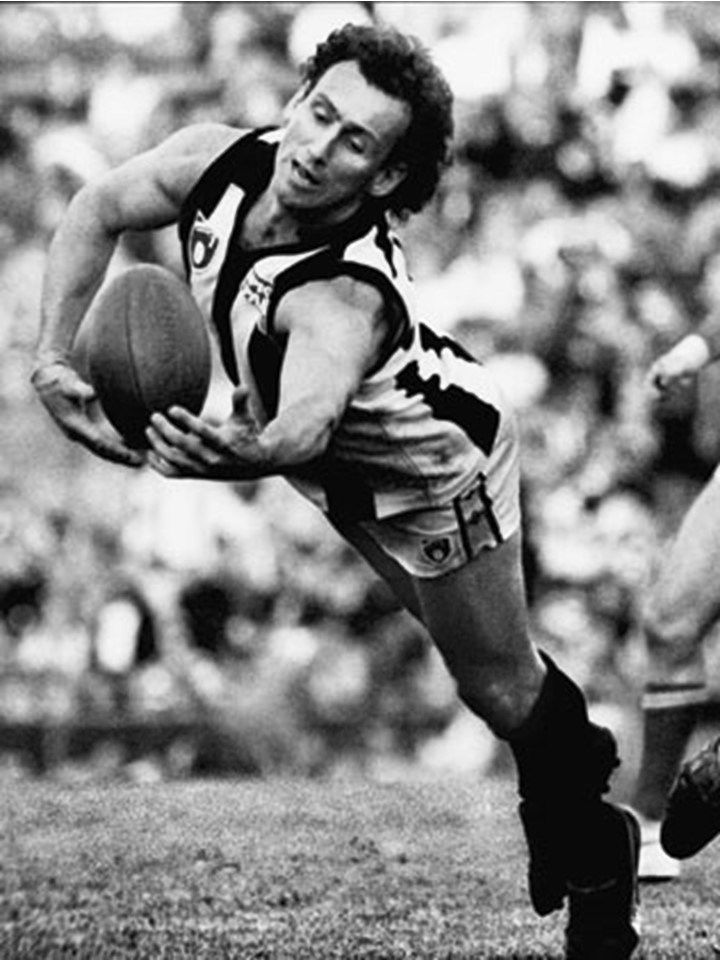 Peter Daicos. Played 1979-1993. Games Collingwood 250. Premiership 1990. The Macedonian Marvel.