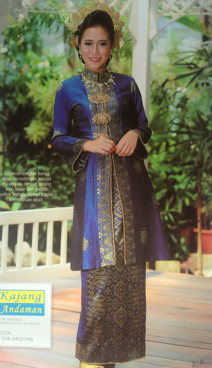 songket wedding dress - Google Search