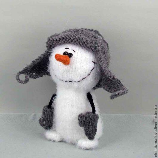 Сказочные персонажи ручной работы. Ярмарка Мастеров - ручная работа. Купить Снеговик. Handmade. Белый, прикольный подарок, купить в москве