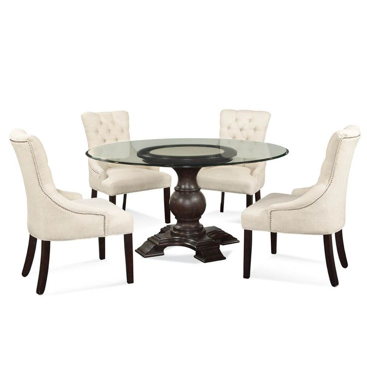 17 Best Ideas About Glass Top Dining Table On Pinterest