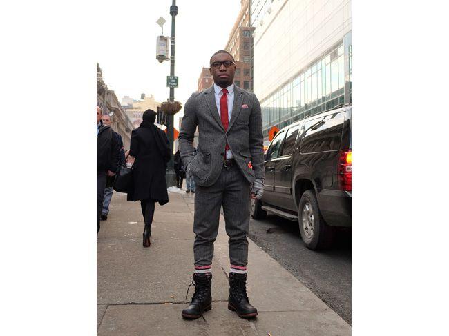 パンツを靴下にイン! NY紳士、背広の着こなしテク - シトウレイのHello Dandy! - 朝日新聞デジタル&M
