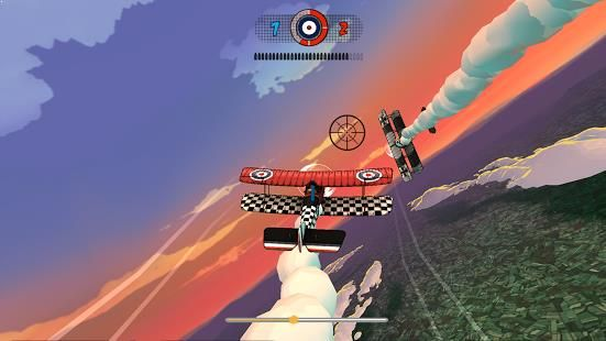 Ace Academy Skies of FuryWith a visual aesthetic inspired by vintage comics