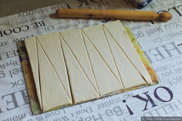 Дрожжевое слоеное тесто (тесто для круассанов) - Tofogo's Night Bakery