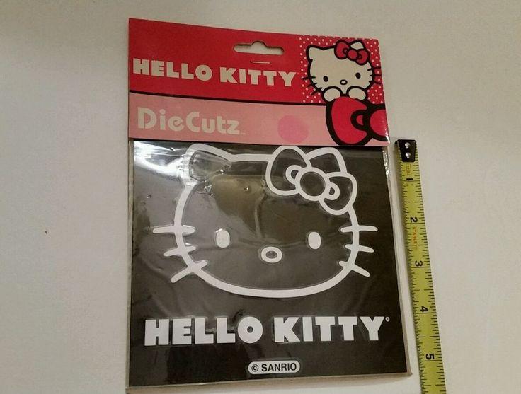 Hello Kitty Vinyl Die Cut Peel and Stick Decal Sticker for Car Van SUV or Trucks | Home & Garden, Home Décor, Decals, Stickers & Vinyl Art | eBay!