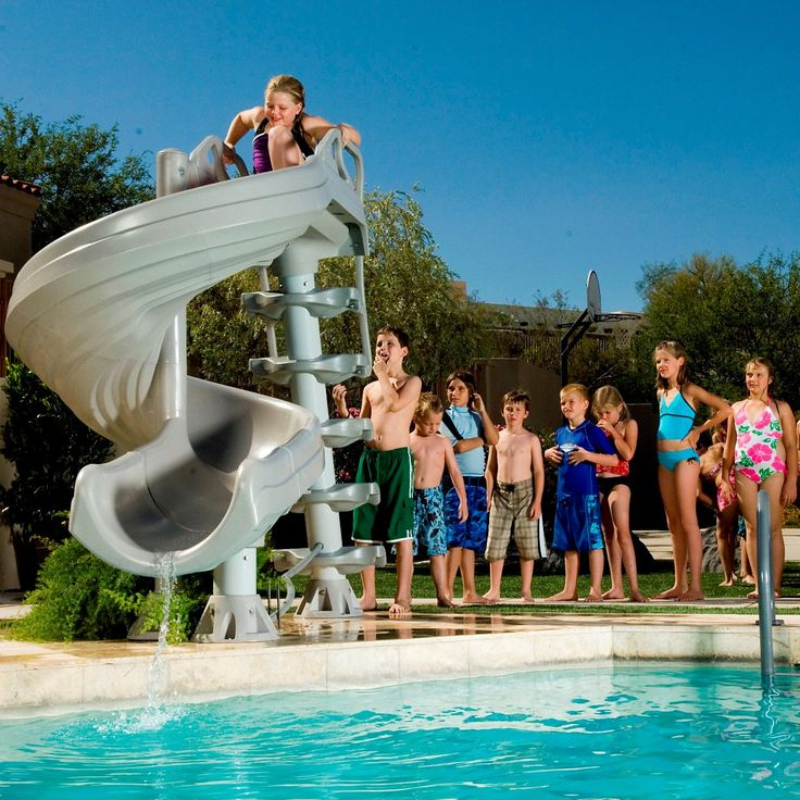 15 Best Water Slides Images On Pinterest Pools Swimming