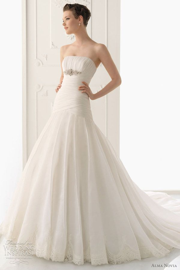 Alma Novia Wedding Dresses 2012   Wedding Inspirasi