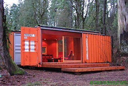 Casas con contenedores baratas y ecológicas - Ecocosas