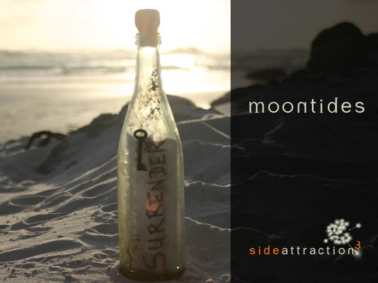 'Moontides' collection. Exploring the ideas around 'surrender'.