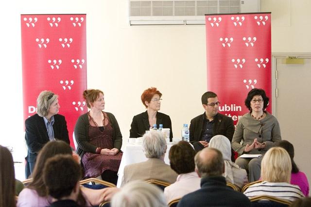 Dublin Writer's Festival - Artists in the World talk