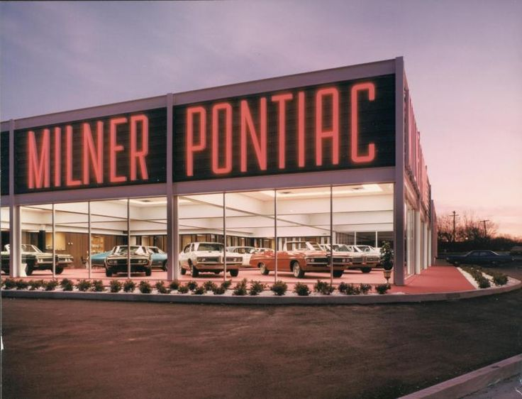 1968 Milner Pontiac Dealership, Tulsa, Oklahoma Car