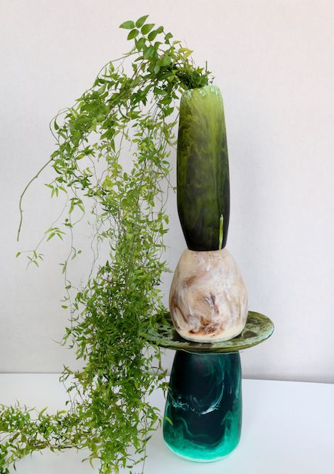 Dinosaur Designs Moss Collection - Assorted Vases