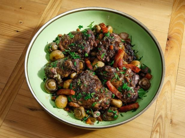 Get Geoffrey Zakarian's Coq au Vin Recipe - the only way the Hubs said he'll drink wine