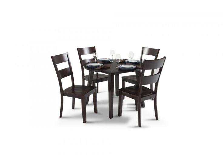 Blake Drop Leaf 5 Piece Set   Dining Room Sets   Dining Room   Bob's Discount Furniture