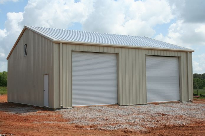 30 X 40 X 14 With 2 12 X 12 Commercial Rollup Doors