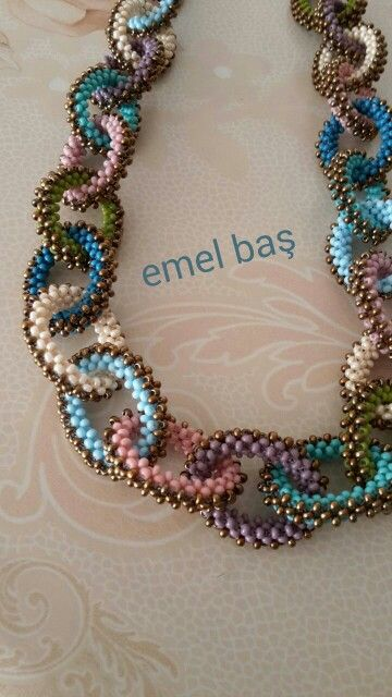 Colourful chains by Emel Bas from Turkey