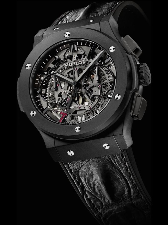 HUBLOT CLASSIC FUSION CHRONOGRAPH AERO LAS VEGAS 2015 BOUTIQUE WATCH EDITIONS