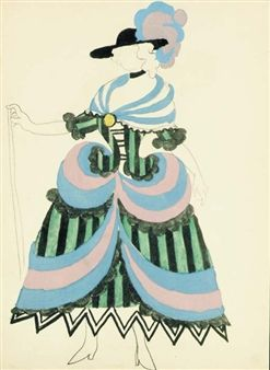 Le Tricorne , Paris, Editions Paul Rosenberg, 1920 (B. 34; Cramer books 8) By Pablo Picasso