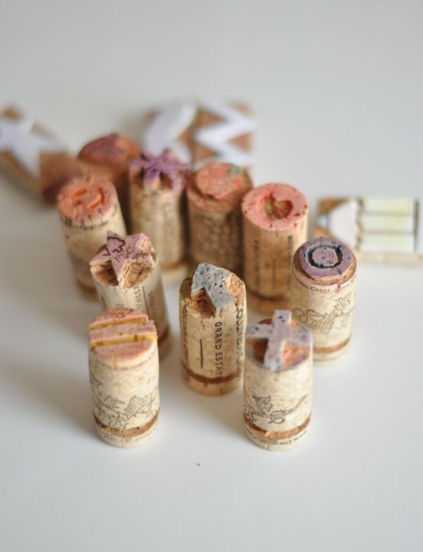 Perfect Gift with Design Mom: Cork Stamps