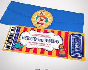 Convite Circo