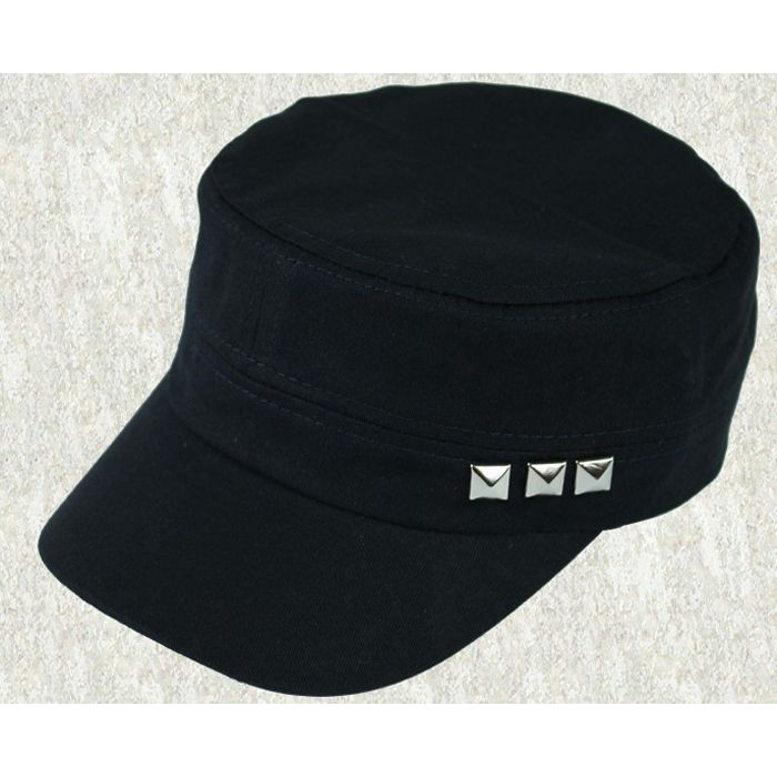 Wholesale baseball caps with rivet casual snapback outdoors unisex hats for men and women in spring,autumn sun shading
